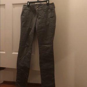 Size 2 American Eagle Cotton (Uniform pants) Olive